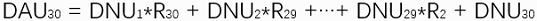 DAU日活跃用户计算公式